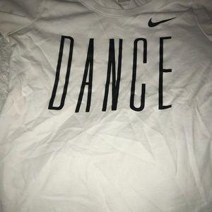 Nike dance tee